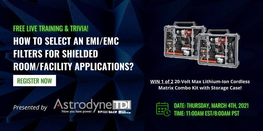 HOW TO SELECT AN EMI_EMC FILTER