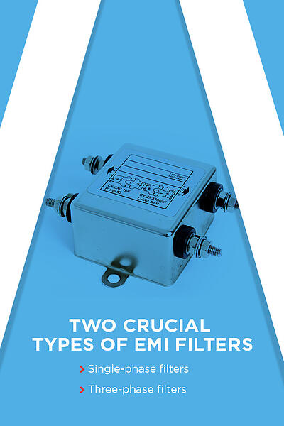 Two crucial types of EMI filters