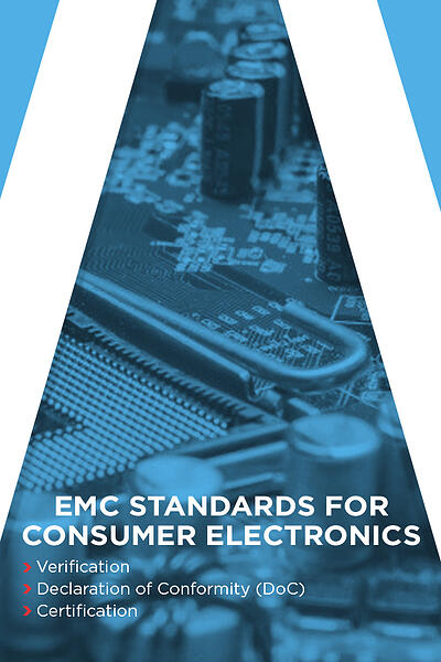 EMC standards for consumer electronics