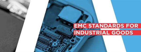 EMC standards for industrial goods