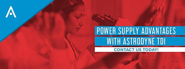 Power Supply Advantages with Astrodyne TDI