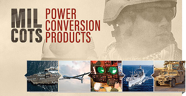 Mil COTS Power Conversion Products