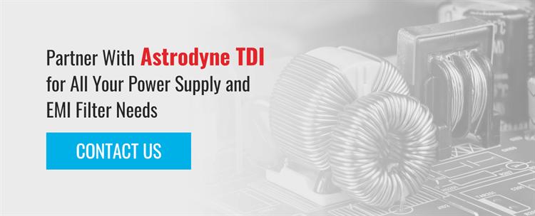 Partner with Astrodyne TDI