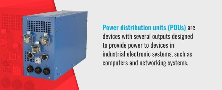 Power Distribution Units (PDUs)
