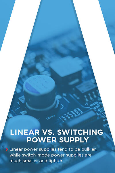 Linear vs. switching power supply