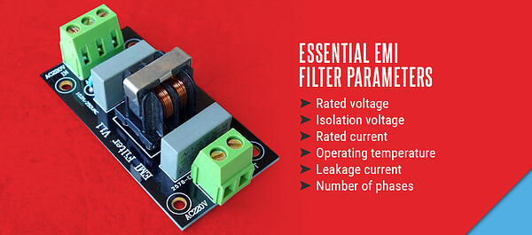 Essential EMI Filter parameters